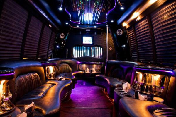 15 Person Party Bus Rental Boston