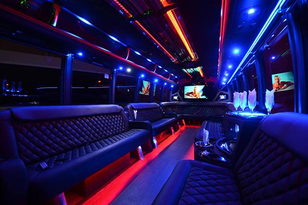 40 Person Party Bus Rental Boston