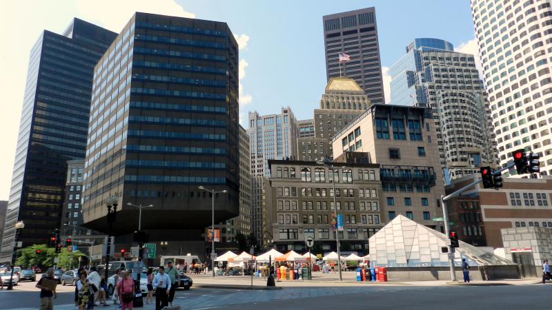 Party Bus Rental Downtown Boston